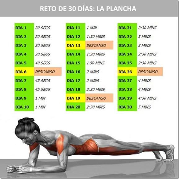 Resultado de imagen para ejercicio de   Plancha