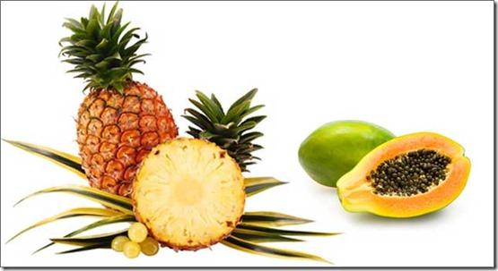 piña-papaya